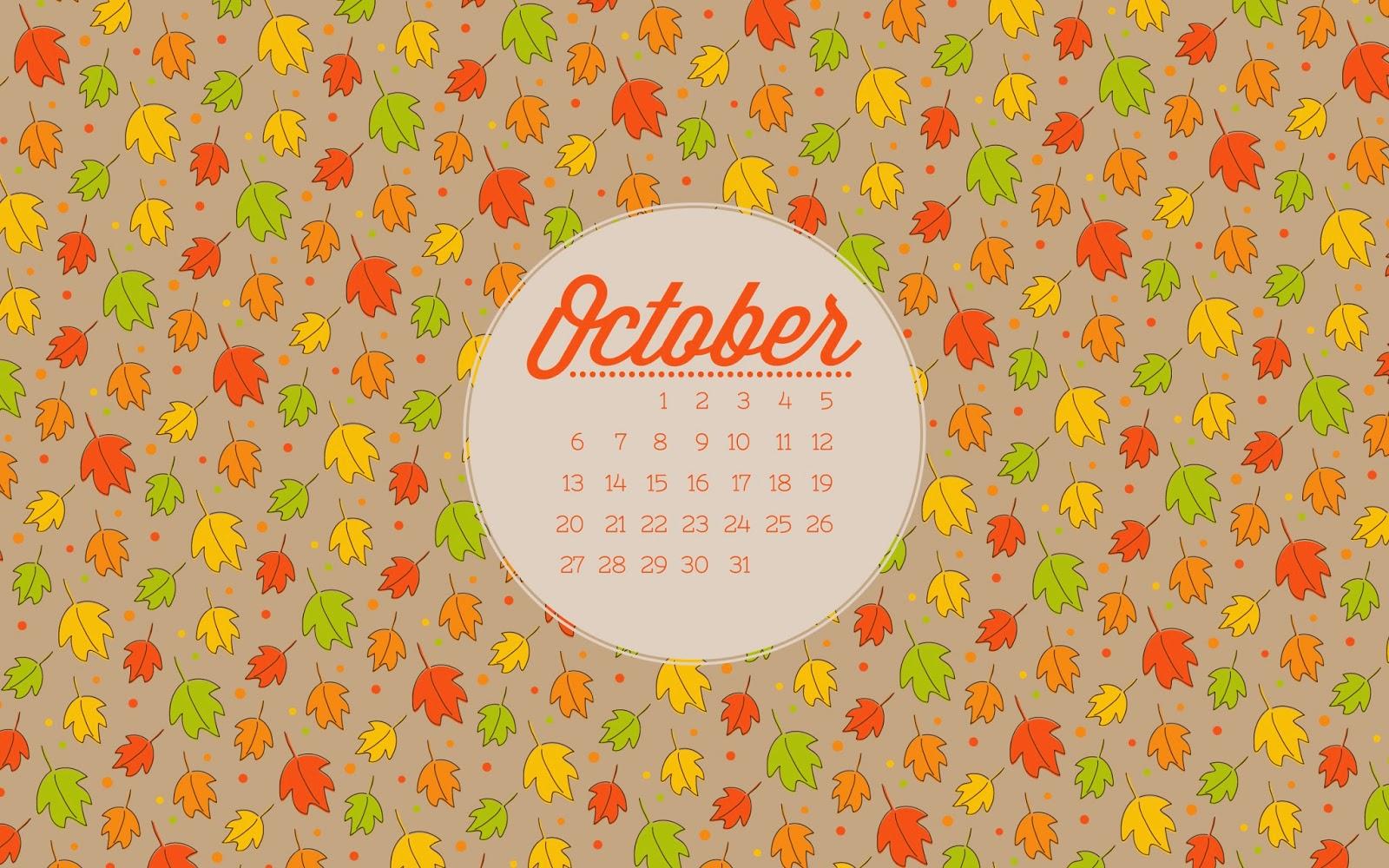 Wallpaper Calendar Oct : Dresdencarrie october desktop wallpaper