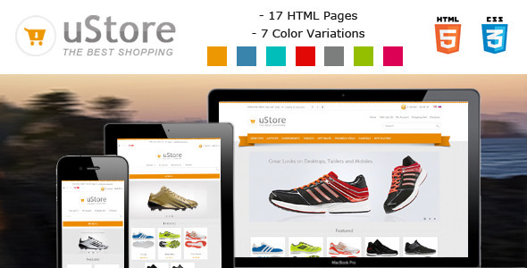 uStore Ecommerce Template for Html5