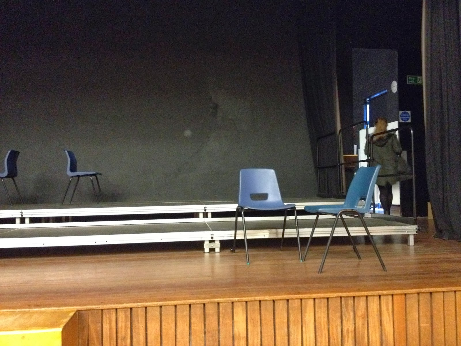 Contemporary theatre production unit 13 a view from the for 13 a table theatre