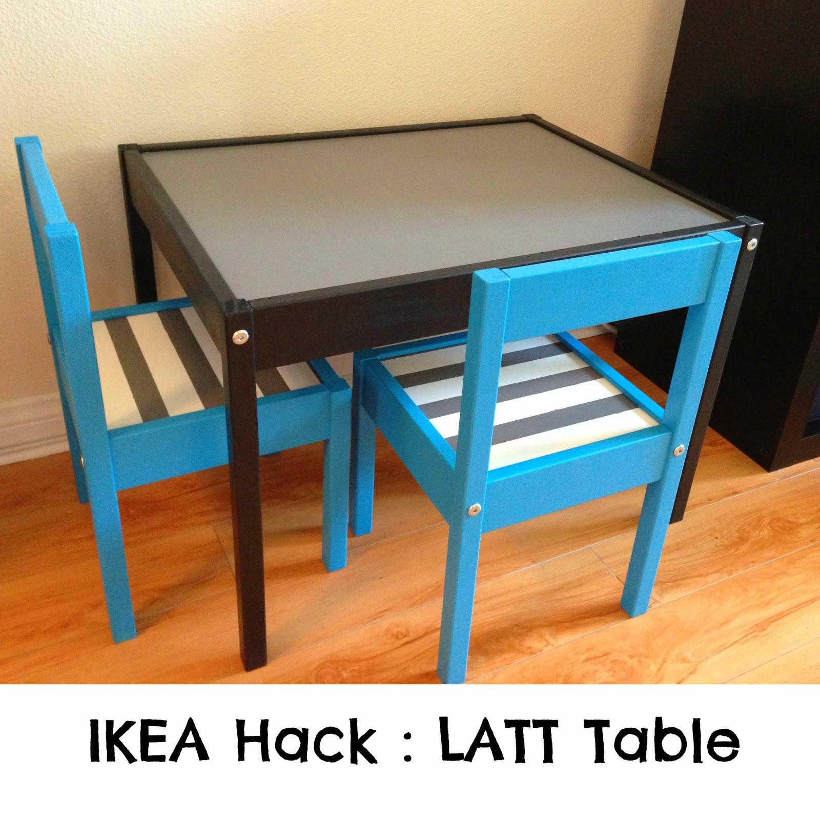 Chasin' Mason: [DIY] IKEA Hack : LATT Table : The Table is ...