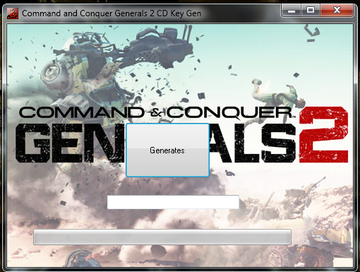 Candc Gen on Command And Conquer Generals Cd Key