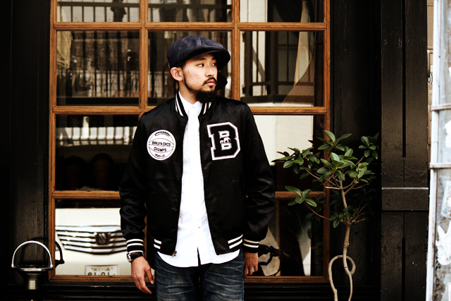 "The Brooklyn Circus ""LDN Official Satin Jacket"" size M 43,200yen"