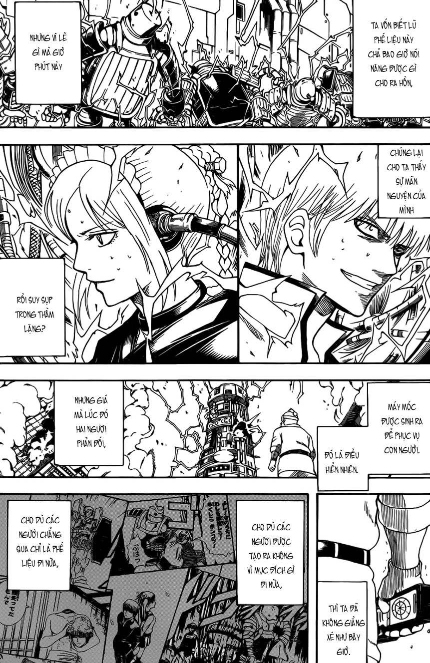 Gintama Chap 610 - Trang 11