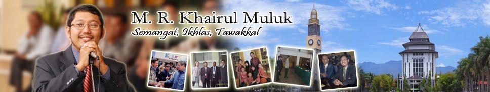 M.R. Khairul Muluk - Administrasi Publik