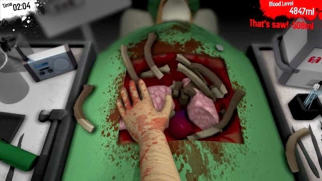 Surgeon Simulator 2013 PC Games Gameplay