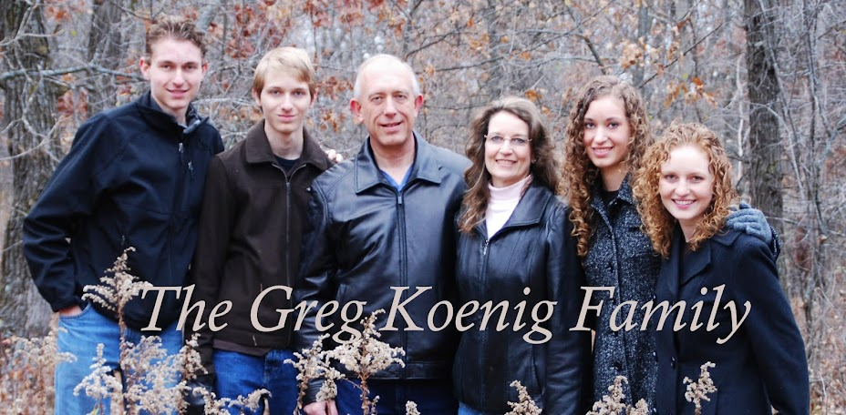 Greg Koenig Family
