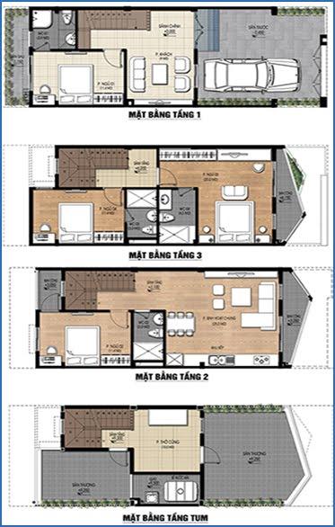 Liền kề 85 m2