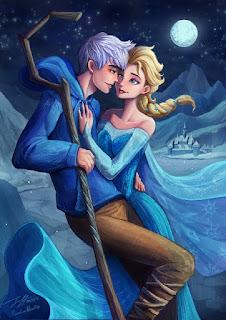 Gambar Elsa dan Jack Forst wallpaper 12