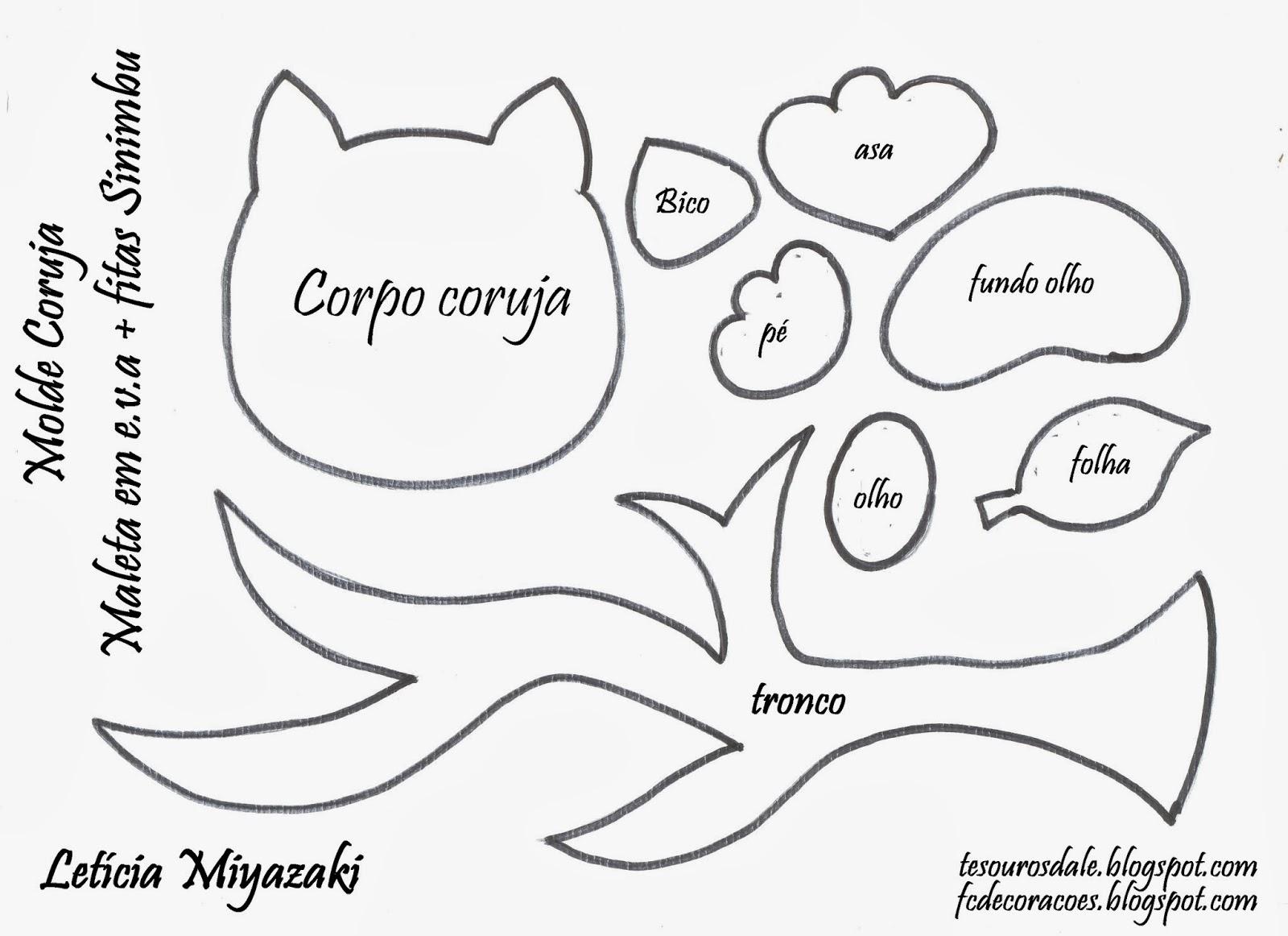 Molde De Coruja
