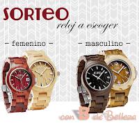 """Sorteo en el blog """"Con B de Belleza"""""""