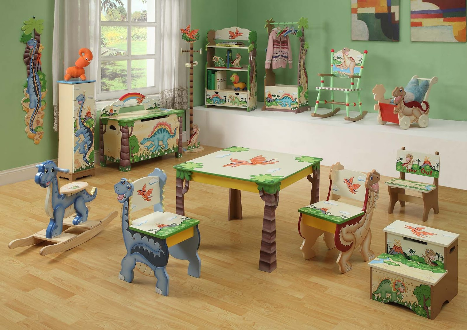 romantic flair original jurassic park dinosaurs kids furniture