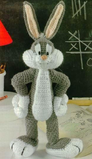 Amigurumi Bugs Bunny Yapilisi : Bugs Bunny AMIGURUMIES