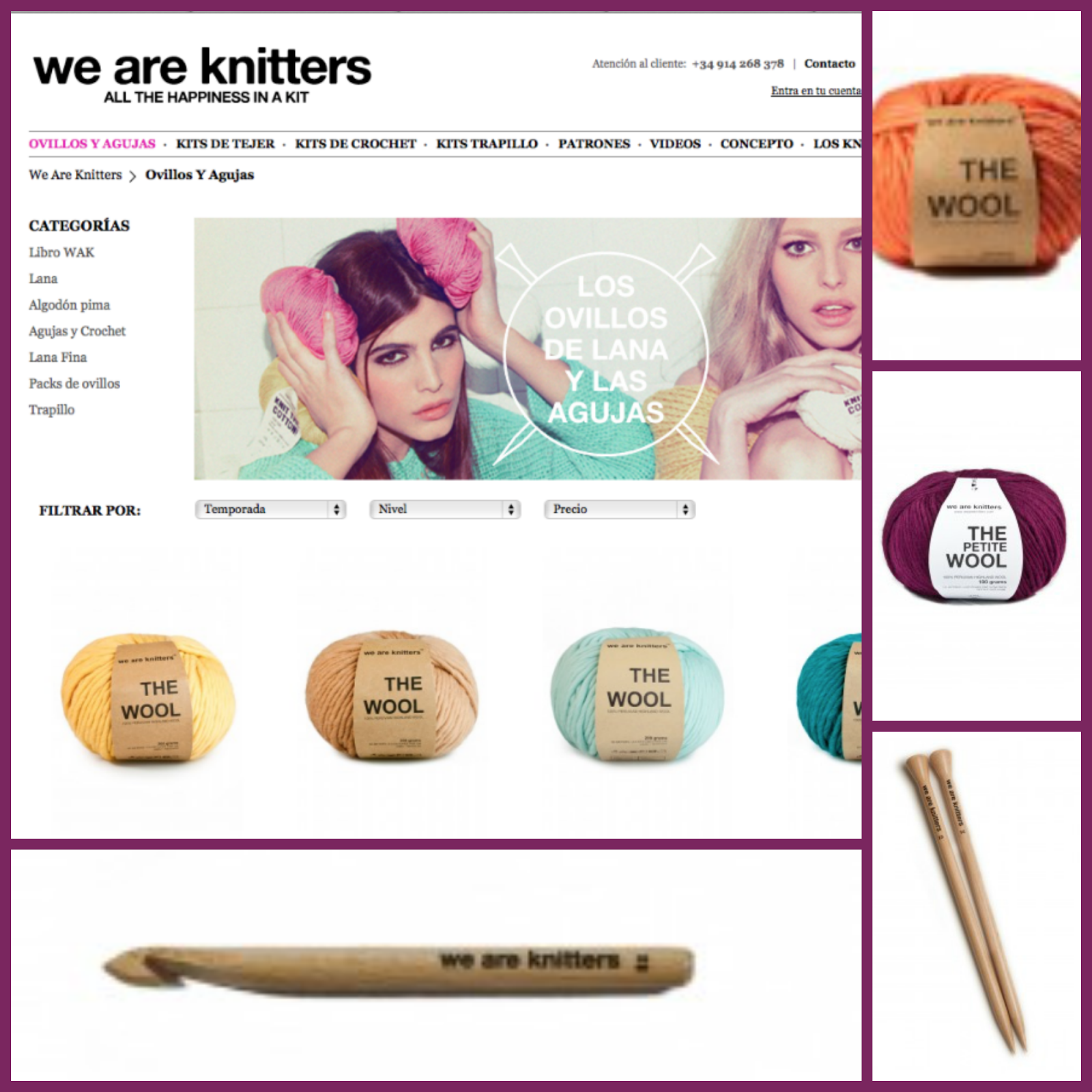 We are Knitters Tienda On Line