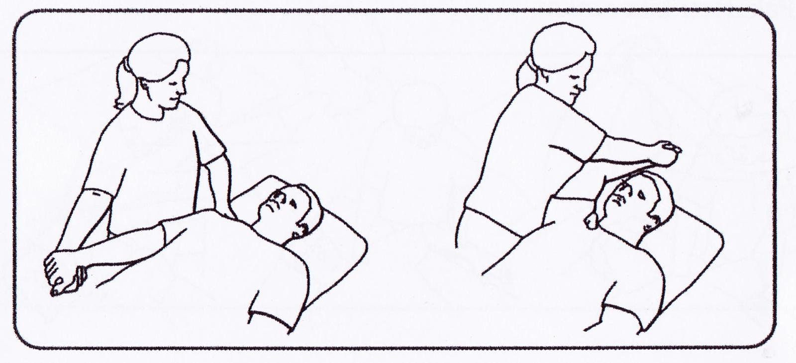 shoulder range of motion exercises pdf