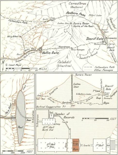 Karta Map Moria