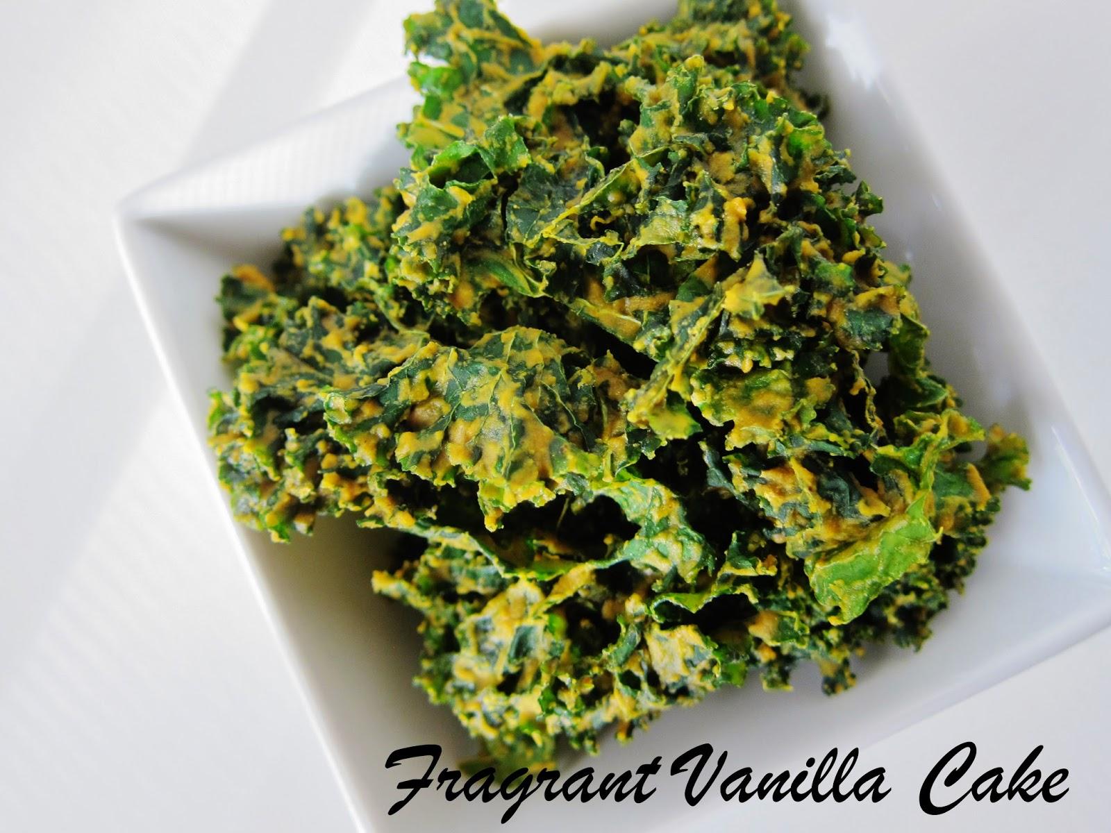 Pumpkin Spice Kale Chips