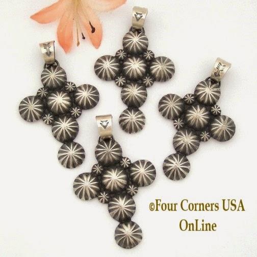 Navajo Darrell Cadman Cross Jewelry Four Corners USA OnLine