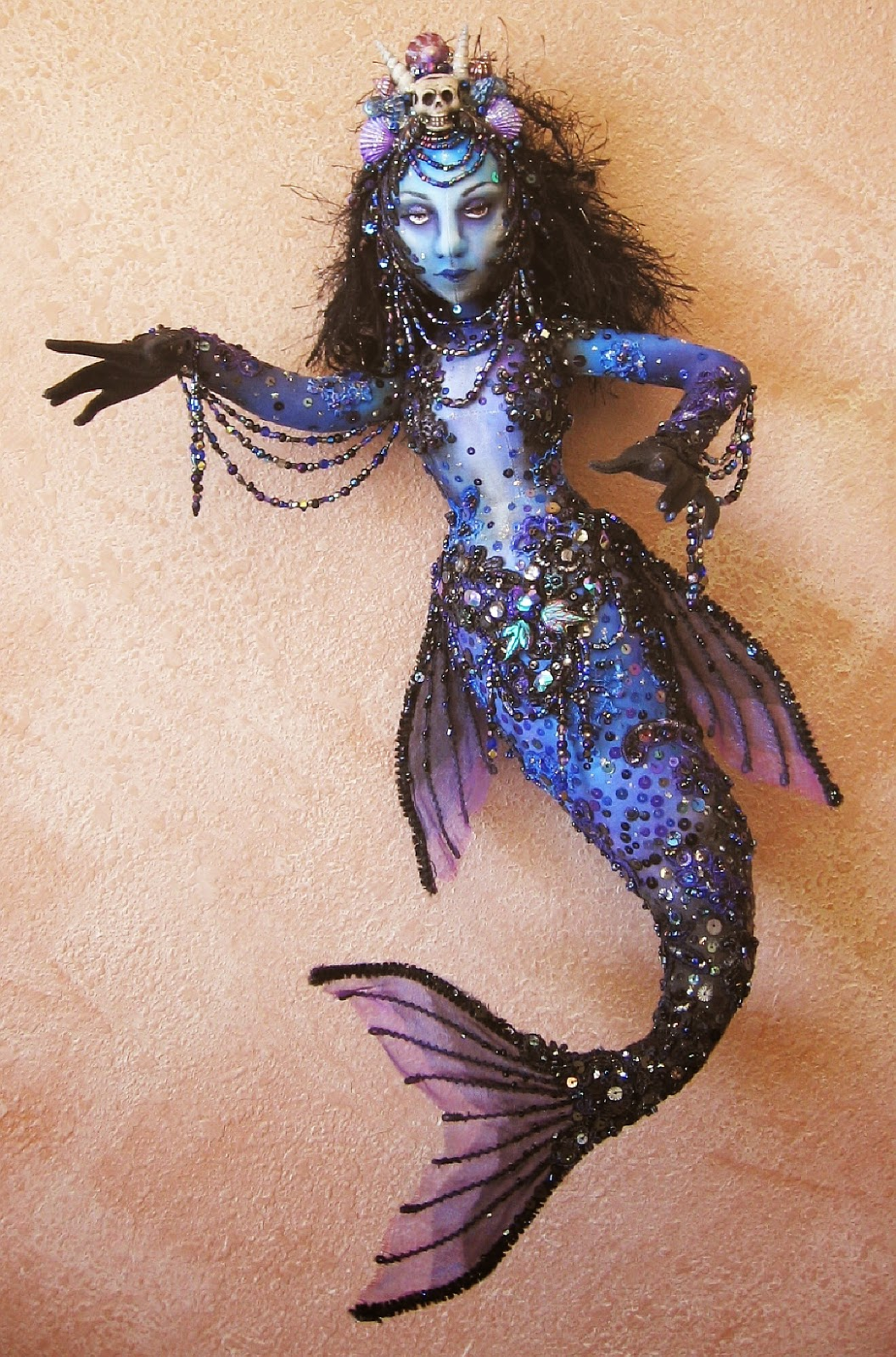 Witch crafts new dark mermaid for Mermaid arts and crafts