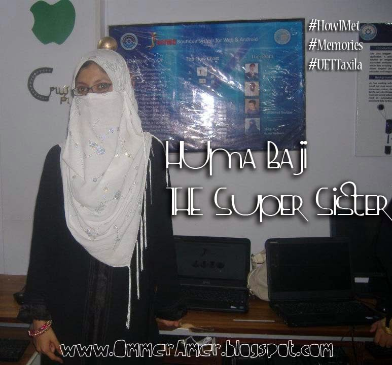 Huma Nadeem UET Taxila 2k8 Open House