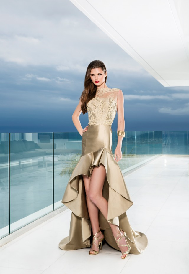 Espectaculares vestidos de moda | Colección Gema Nicolás