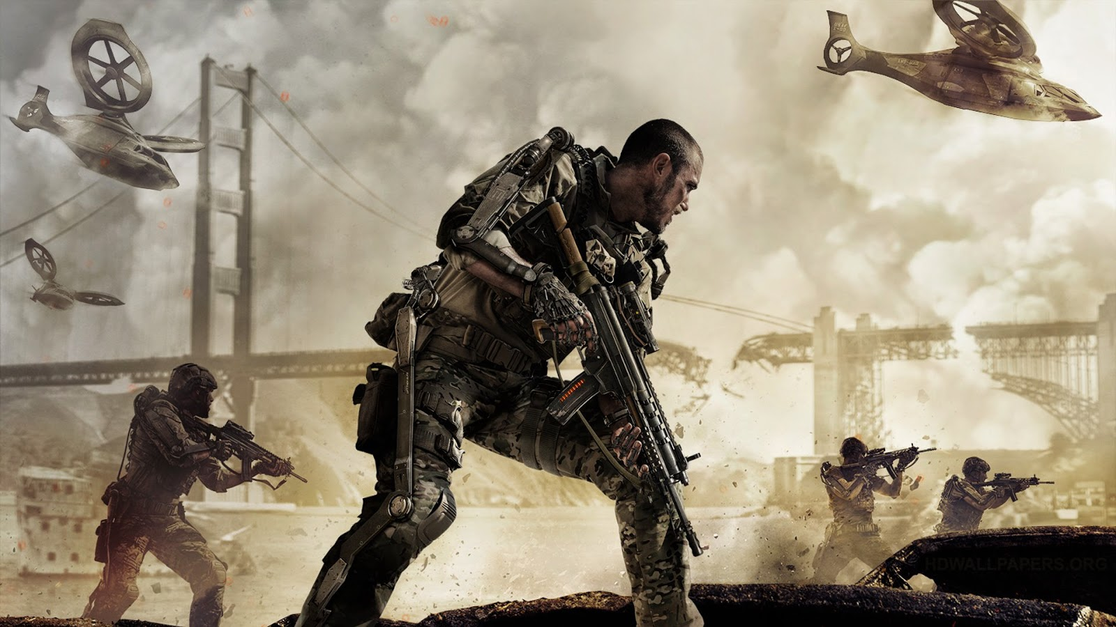 Call of Duty, Advanced Warfare, Top Selling Game in 2014, Activision
