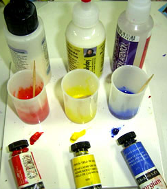 Brands of Liquid Polymer Clay and how to use it