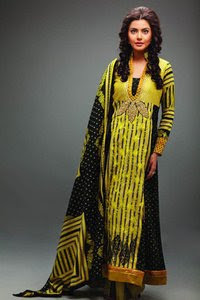 Nida Yasir Lawn Collection 2011