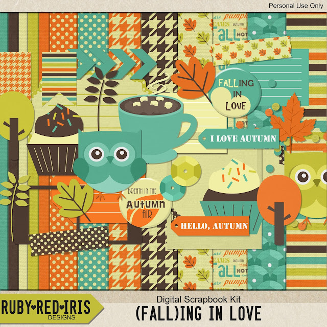 Free scrapbook (FALL)ING IN LOVE
