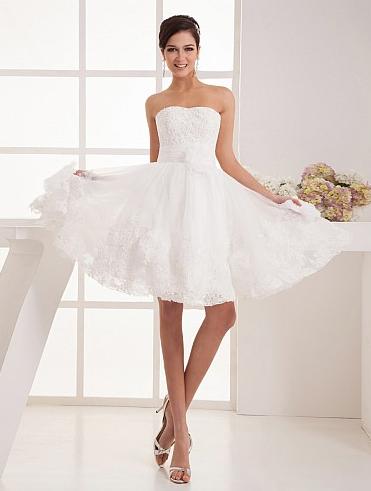 http://www.artweddings.com/appliqued-organza-short-a-line-wedding-dress-with-floral-decor-awhswd4u1345-en/
