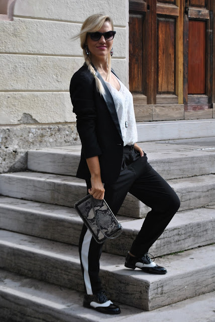mariafelicia magno fashion blogger outfit ottobre 2015 outfit autunnali fashion blogger milano fashion blogger bergamo fashion blogger bionde color block by felym fall outfit fashion bloggers italy italian girl blonde girl blonde hair blondie