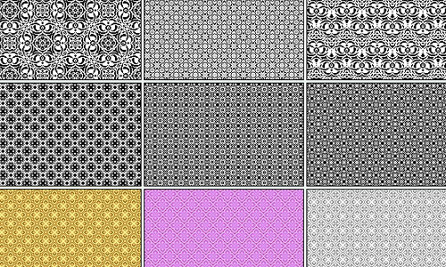 18 Pixel Patterns
