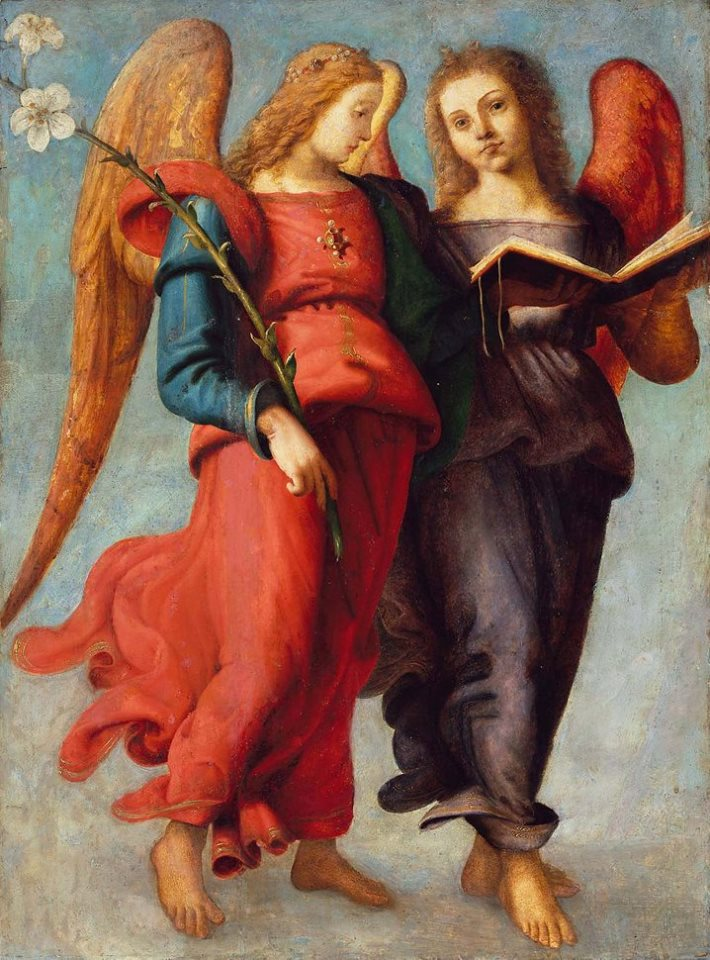 Piero di Cosimo, Two Angels, ca. 1510–1515