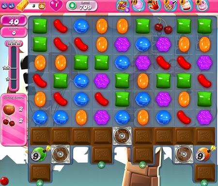 Candy Crush Saga 709