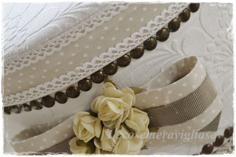 Amato lecosemeravigliose Shabby e country chic passions: scatole  EC04