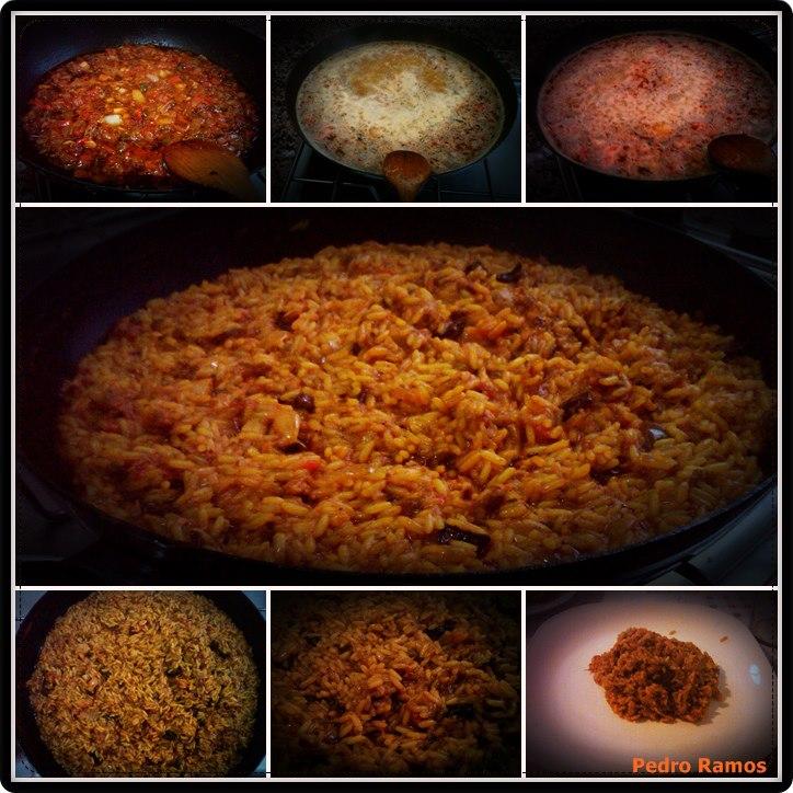 Guachinches parranderos arroz a las especies con calamares for Arroz blanco cocina al natural
