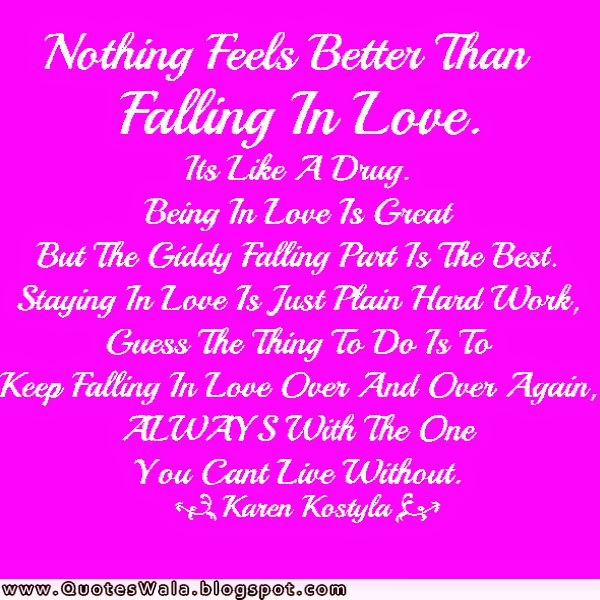 Falling in Love Quotes | Daily Quotes at QuotesWala