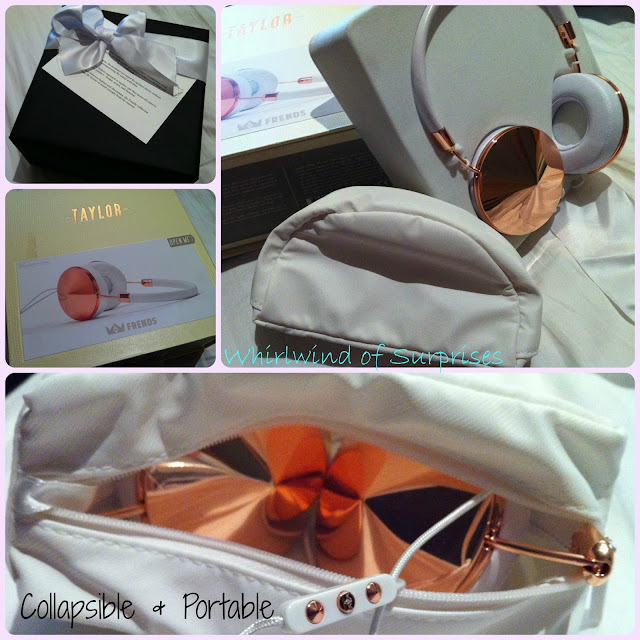 Frends Taylor Rose Gold & White Headphones Review