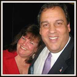 Maureen Castriotta with New Jersey Governor Chris Christie