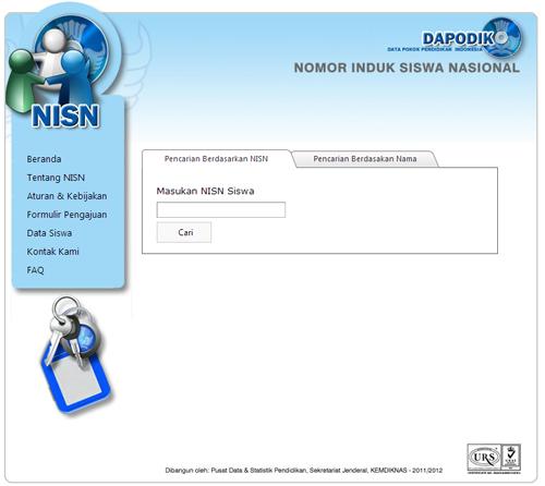 Cara Mudah Chek NISN di Internet