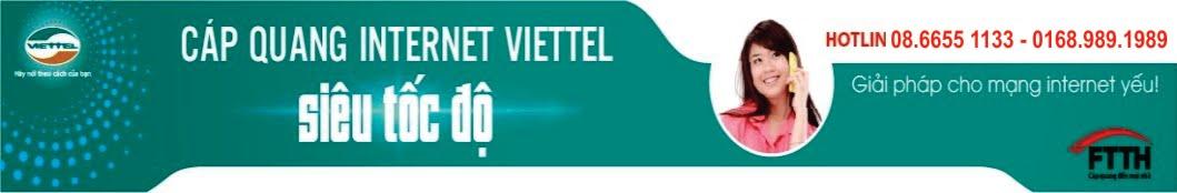 Đăng ký internet viettel |Lắp đặt mạng Viettel HCM