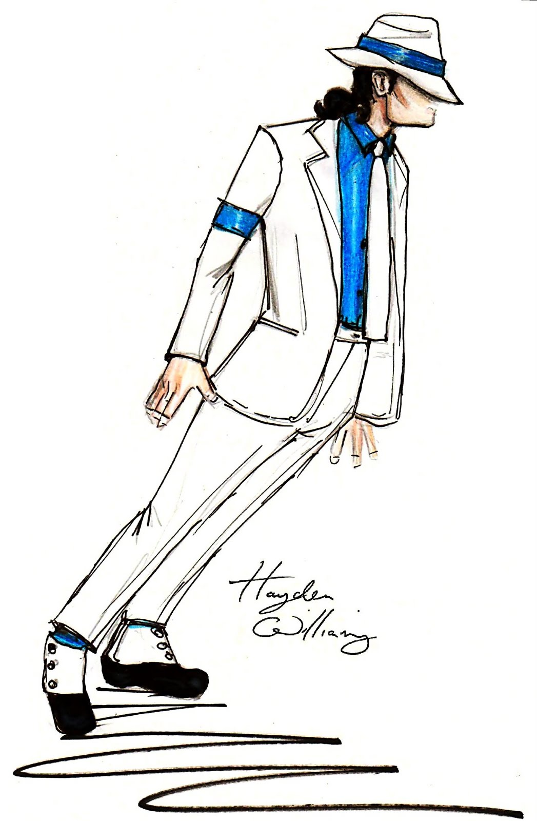 michael jackson sketch smooth - photo #13