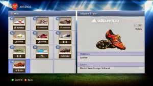 Download Unlocked 100 Boots untuk PES 2015 SUN Patch 1.0