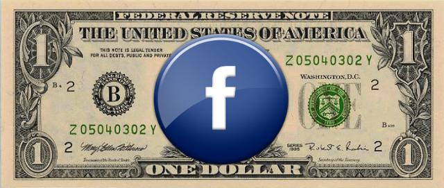 "Te envió spam por un dólar ""Facebook"""