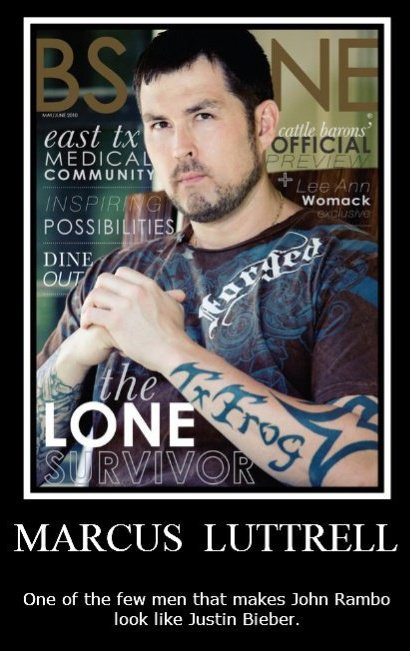 bohoBlack: Marcus Luttrell – What A Mighty Good Man!