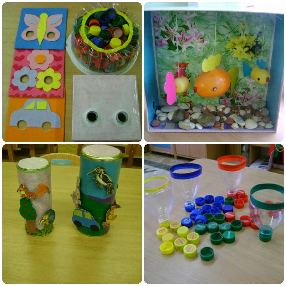 Игрушки своими руками для прогулки в детском саду 94
