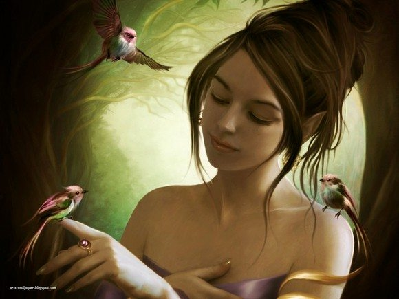 Fantasy Art Wallpaper Elena Dudina Artwork 26