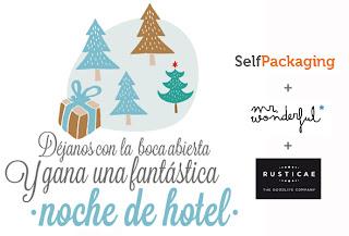 concurso noche hotel gratis rusticae selfpackaging mr. wonderful