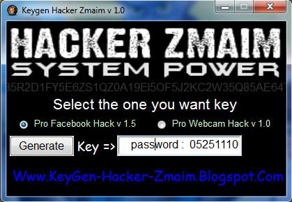 Pro Facebook Hack V 1.5