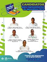 Candidatos a representantes de los aprendices 2018 - 2019