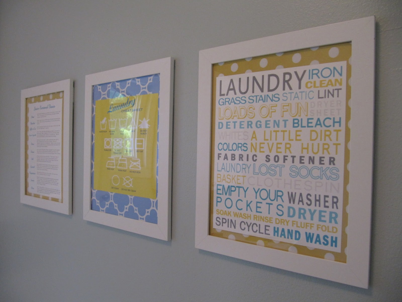 everyday organizing: {An Organized Laundry Room} The Reveal
